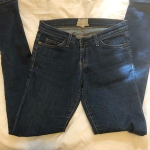 ANTHRO Current Elliot straight leg jeans size 27